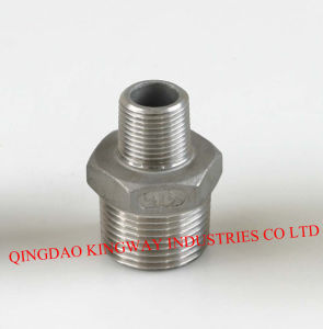 Stainless Steel Reducing Hex. Nipple. pictures & photos