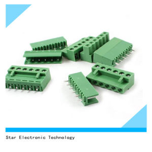 Nylon 6 Pin 5.08mm Pitch Screw Mount Pluggable Type Terminal Block Connector pictures & photos