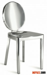 Chrome Steel Banquet Furniture Metal Emeco Kong Chair pictures & photos