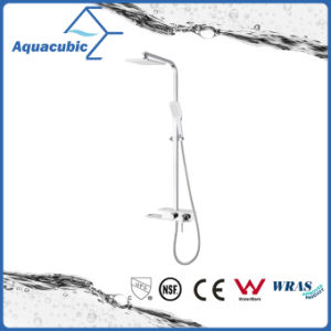 Made in China Brass Shower Panel with Fiber Glass Mixer pictures & photos
