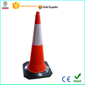 Factory 1m Red Stronger PE Traffic Cone pictures & photos