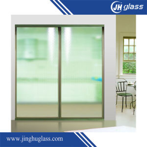 10mm Flat Sandblast Frost Glass for Building pictures & photos