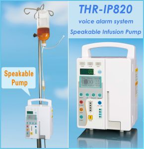 Speakable Volumetric Infusion Pump (THR-IP820) pictures & photos