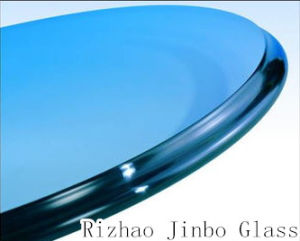 3mm/4mm/5mm/6mm/8mm/10mm/12mm Tempered Glass/Toughened Glass for Furniture and Building Wth High Quality (JINBO) pictures & photos