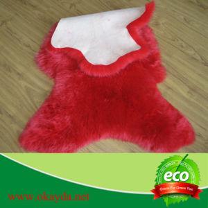 High Quality Colored Sheepskin Rug