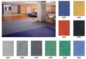 Commercial Using Resilient PVC Flooring pictures & photos