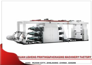 4 Color Automatic High Speed Flexo Printing Machine pictures & photos