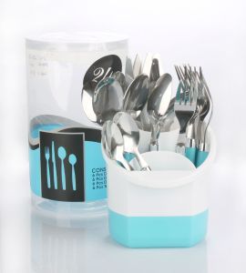 24 PCS Set Steel Cutlery pictures & photos