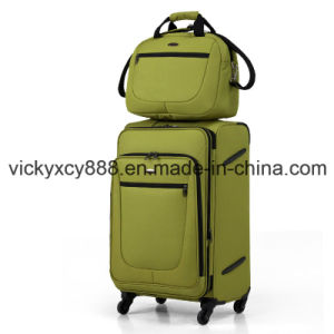 Polyester Wheeled Trolley Luggage Trave Suitcase Case Bag (CY8911) pictures & photos