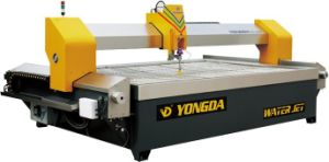 CNC Waterjet Cutting Machine for Stone, Glass and Ceramic Cutting, Ceramic Machine, Glass Machine (YD-3015)