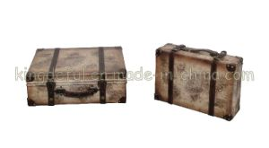 Leather Suitcase (SJ08539)