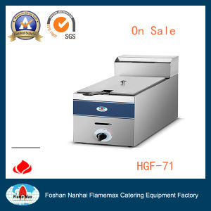 Stainless Steel Gas Chip Fryer (HGF-71) pictures & photos