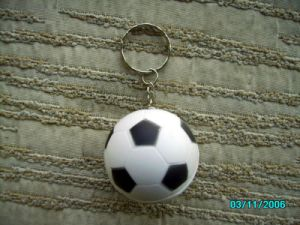 Football Fans Customized High Quality Soccer Keychain pictures & photos