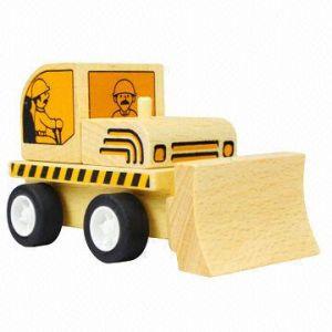 Wooden Bulldozer (TTMA004)