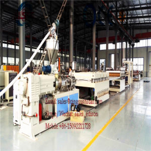 PVC Construction Template Machine Construction Template Making Machine PVC Plastic Machine Construction Material Making Machine PVC Formwork Machine pictures & photos