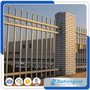 Galvanized Welded Steel Fence/Wrought Iron Railing/Fence Panels with Power Coating pictures & photos