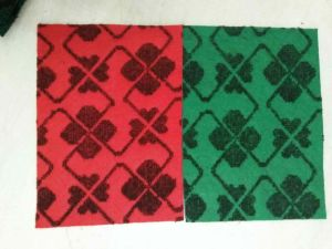 Non-Woven Double Colour Jacquard Carpet pictures & photos