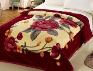 Raschel Printing Polyester Warp Knitting Blanket