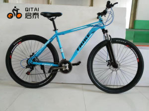 26 Size Steel Mountain Bicycle with 21 Speed Gear, Shimano Gear pictures & photos