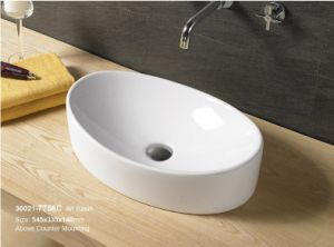 New Design Ceramic Bathroom Caboinet Washing Sink 30021 pictures & photos