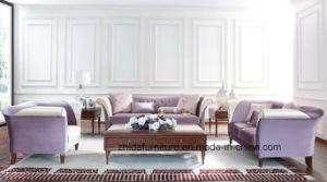 European Top Sofa with Solid Wood Frame / Classic Royal Sofa pictures & photos