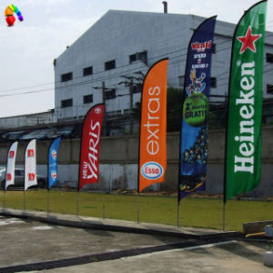 Outdoor Flying Advertising Polyester Feather Flag, Teardrop Beach Flag (BL-FFB3P) pictures & photos
