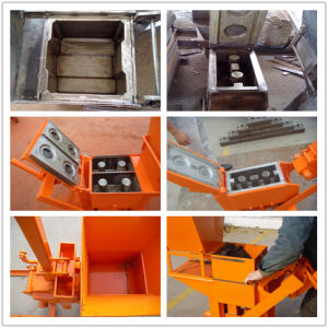 Qmr2-40 Lego Maunal Clay Soil Interlocking Brick Machine pictures & photos