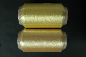 450d Pure Gold of Metallic Yarn pictures & photos