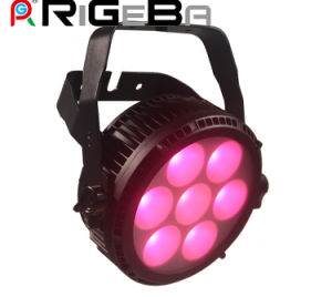 RGBWA 5in1 7PCS 25W Stage LED PAR Can Light pictures & photos