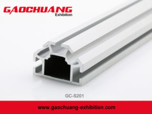 Vertical Extrusion for Aluminum Modular Exhibition Booth Stand (GC-S201) pictures & photos