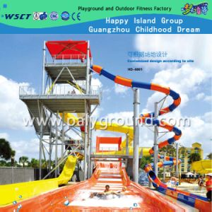 China Professional Water Park Slide Equipment with CE (HD-6801) pictures & photos