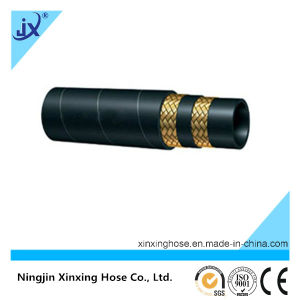 SAE 100r16 Wire Braid Hydraulic Rubber Hose pictures & photos