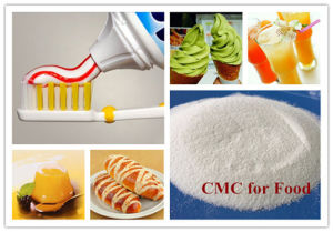 Food Grade CMC/ Carboxymethyl Cellulose Toothpaste pictures & photos