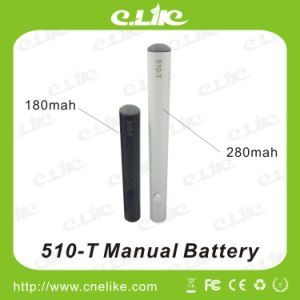Longer Life Advanced 510-T Battery with Auto and Manual 180/280mAh Battery E-Cigar