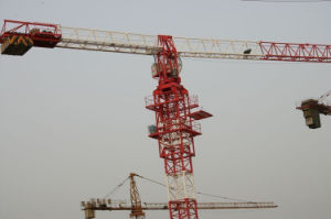 Flat Top Tower Cranes for Sale by Hstowrcrane pictures & photos