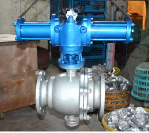 Hydraulic Control Cut-off Ball Valve pictures & photos