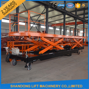 Electric Freight Lift Warehouse Hydraulic Cargo Lift pictures & photos