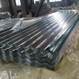Dx51d+Z80 Regular Spangle Corrugated Galvanized Steel Sheet in Coil pictures & photos