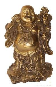 Customized High Bronze Fiberglass Budda Statue pictures & photos