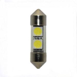 Error Free Car Festoon Lights 2 SMD LED Side Light Bulb (10*36-2SMD-5050 CANBUS)