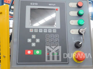 Press Brake, Metal Processing Machine for Bending Steel with 2 Axis Estun E210 CNC pictures & photos