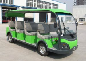 Electric Sightseeing Car for 11 Person Made by Dongfeng Motor on Sale