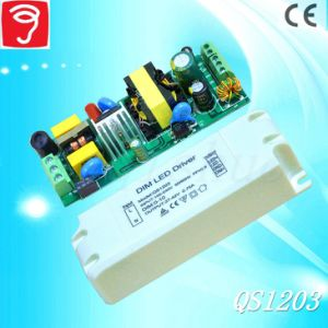 20-35W 0-10V Dimmable LED Power Supply with Ce QS1203 pictures & photos