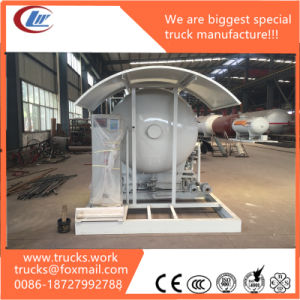 China Supplier High Pressure 2mt 5000liters Mobile LPG Loading Station pictures & photos
