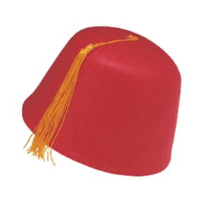 Lovely Red Party Wholesale Felt Fez Hat pictures & photos