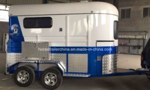 China Straight Load Horse Trailer/Horse Float Hot Sale in Australia pictures & photos