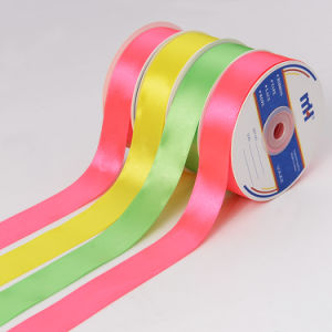 "1"" 25mm Wedding Decorative Satin Ribbons pictures & photos"