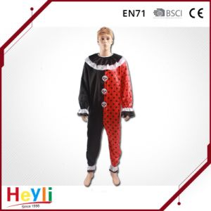 fashion Adult Clown Jester Party Cosplay Costume pictures & photos