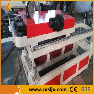 PVC/PP/PE Single Wall Corrugated Pipe Extrusion Line pictures & photos