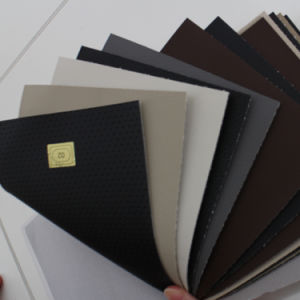 Various Pattern PVC Rexine Leather Stocklot for Auto and Sofa pictures & photos